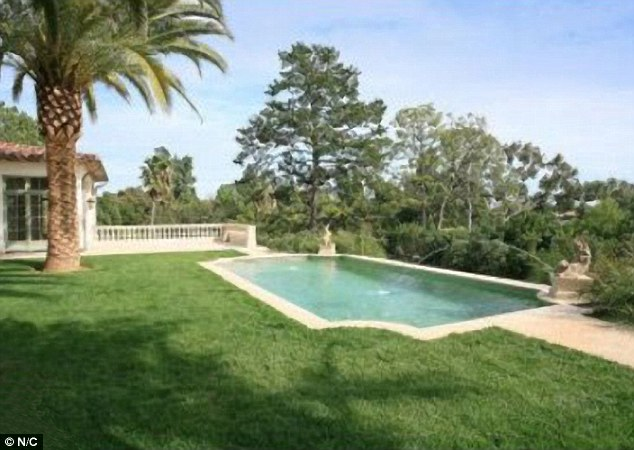 They bought the Bel Air property (pictured) for £14million in 2007 after David signed for MLS football team LA Galaxy