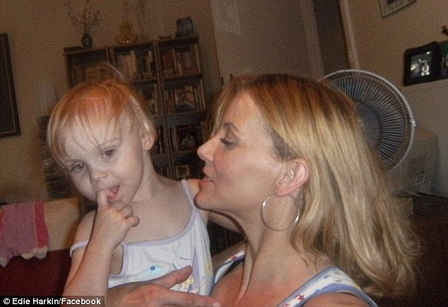 Her parents found Leila (pictured with her mother Edie) unresponsive early the next morning