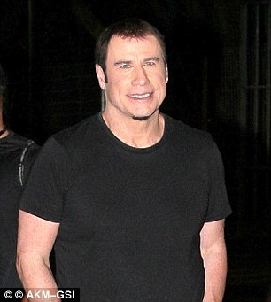 Old hand: Travolta, 62, has worn a variety of weaves down the years with decidedly mixed results as he continues to battle hair loss