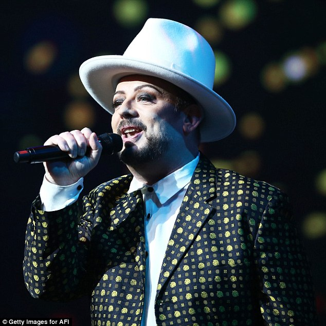 Touring: The singer made his announcement after performing at the AACTA awards last night