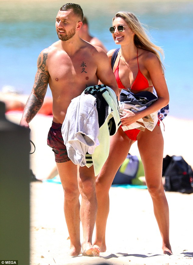 Together: Laura began dating Quade in early 2015, before appearing on I'm A Celebrity...Get Me Out Of Here!