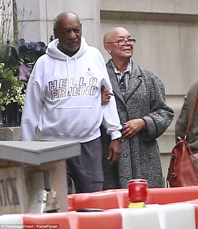 Cosby and his wife Camille (right) are 'adamant that he won't be able to convince a jury to let him off', a source close to the couple has said