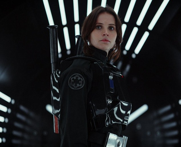 Pivotal: Set before the events of 1977 film Star Wars: A New Hope, Rogue One sees the Rebel Alliance enlist Felicity's Jyn Erso to help steal the blueprint of the Galactic Empire's planet-vaporising Death Star, which her father helped to build