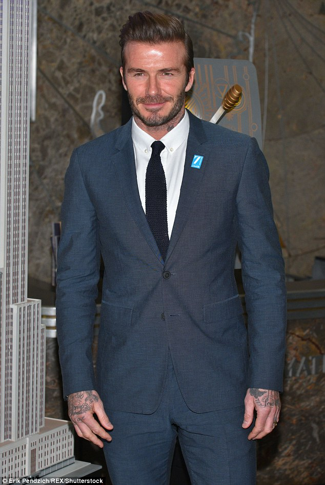 Protecting the Beckham Brand: Earlier today, Beckham appeared on Good Morning America to discuss his work with the charity and also to defend his support of Cruz Beckham's Christmas charity song