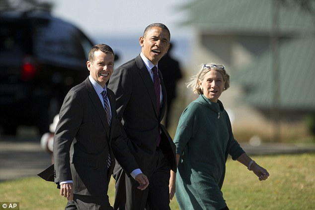 David Plouffe, left, also cited his family as a factor for not serving in the Obama administration