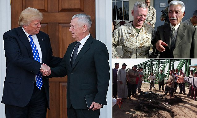 EXCLUSIVE: General Mad Dog's bloodiest battle - how Trump's pick for Pentagon erupted with