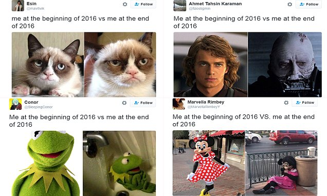 Hilarious memes show the toll the last 12 months have taken on us