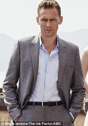 Honours: The Night Manager's Tom Hiddleston has earned a Golden Globe acting nomination for his efforts on the acclaimed TV show