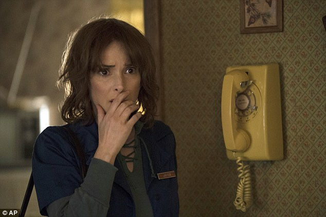 Smash hit:The Netflix show is up for Best Television Series, Drama, while Winona Ryder is also nominated in the Best Performance by an Actress in a TV Series, Drama category