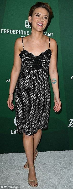 Powerful women: Number three is Scarlett Johansson with $88.60 for every one dollar paid (seen in October at Variety's Power of Women luncheon) ;Number four is Mila Kunis, 33, brings a box office return of $49.50 for every $1 (seen in July at Bad Moms premiere)