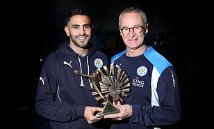 Leicester City's Riyad Mahrez wins BBC African Player of the Year