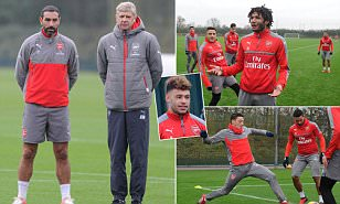 Arsenal boss Arsene Wenger insists 'I want Alex Oxlade-Chamberlain to stay at the club'