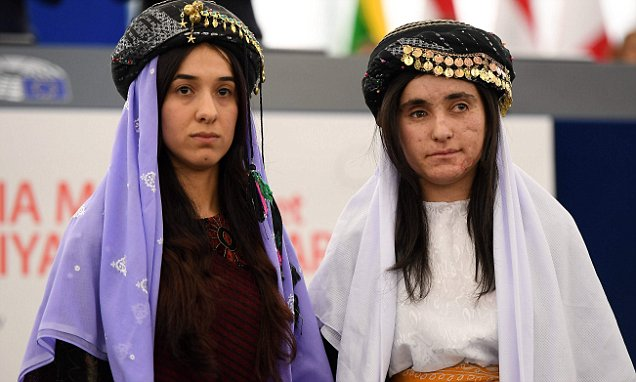 Yazidi women sexually assaulted hundreds of times by ISIS receive human rights prize