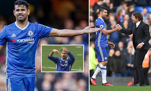 Chelsea news: How dirty Diego Costa has cleaned up his act under Antonio Conte
