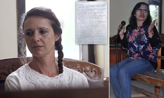 Australian mother Sara Connor offers donation to family of murdered Bali police officer