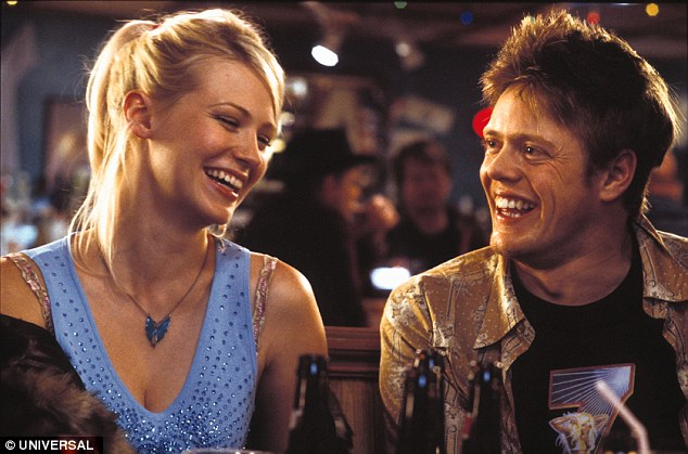 Colin famously travelled to the US in search of love in the Christmas rom com Love Actually