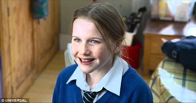 Daisy, the daughter of Emma Thompson and Alan Rickman's characters, was cast as the lobster in her school nativity play