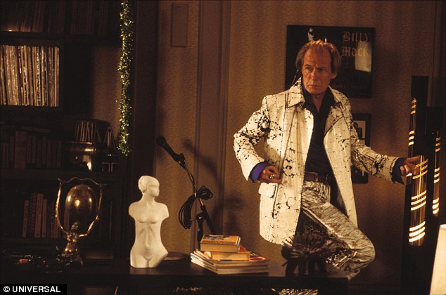 Bill Nighy steals the show as an ageing rocker desperate for one last hit in the Christmas film
