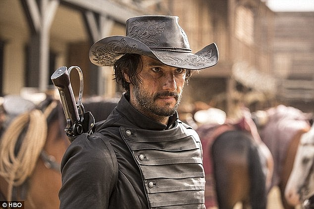 Thirteen years on, Santoro is now starring in the big budget HBO drama, Westworld