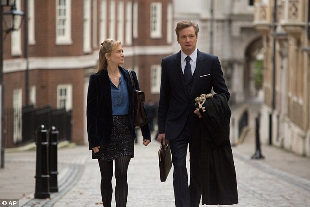 Colin reprised his role as Mark Darcy in the third Bridget Jones movie earlier this year