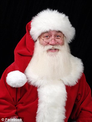 Eric Schmitt-Matzen, 60, fulfilled a terminally-ill child's wish to see Santa Claus, and then held the boy as he died in his arms