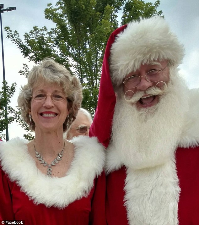 Schmitt-Matzen works 80 gigs as Santa Claus a year, even bringing along his wife as Mrs Claus, but it was this visit to the hospital that he will never forget