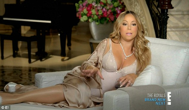 Diva! The singer has been busy promoting her reality show that debuted earlier this month on E!