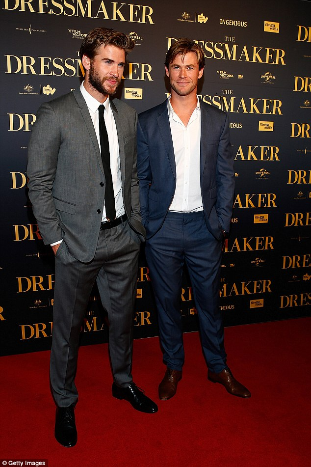 A-List Aussies: Chris and younger brother Liam are hot property in Hollywood