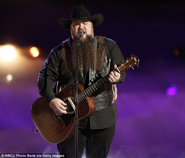 Love song: Sundance Head for his original song performed Darlin' Don't Go