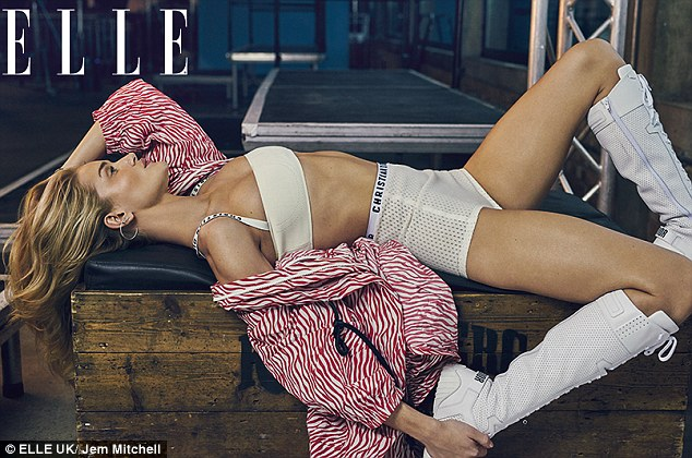 Body beautiful: The stunning star was an easy pick to front the magazine's biggest fitness issue to date