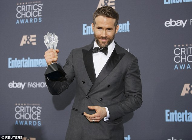 Kind: The 'Proposal' star also picked up Entertainer of The Year and dedicated the prestigious accolade to cancer charities Make-a-Wish Foundation and the SickKids Foundation of Toronto