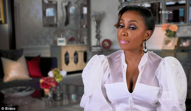 End of tunnel: Phaedra said that her estranged husband Apollo Nida was back on board with their divorce