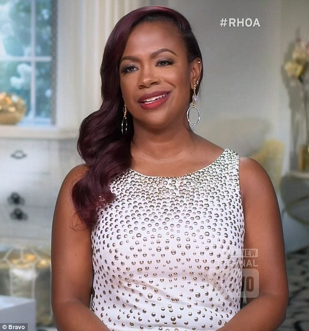 Not impressed: Kandi also had some reservations about Phaedra's story