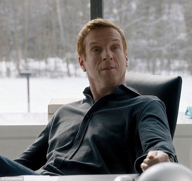 'We don't think money is terribly important':English actor Damian Lewis, 45, has revealed that playing a rich person in the popular television show Billions is a contrast to his regular life