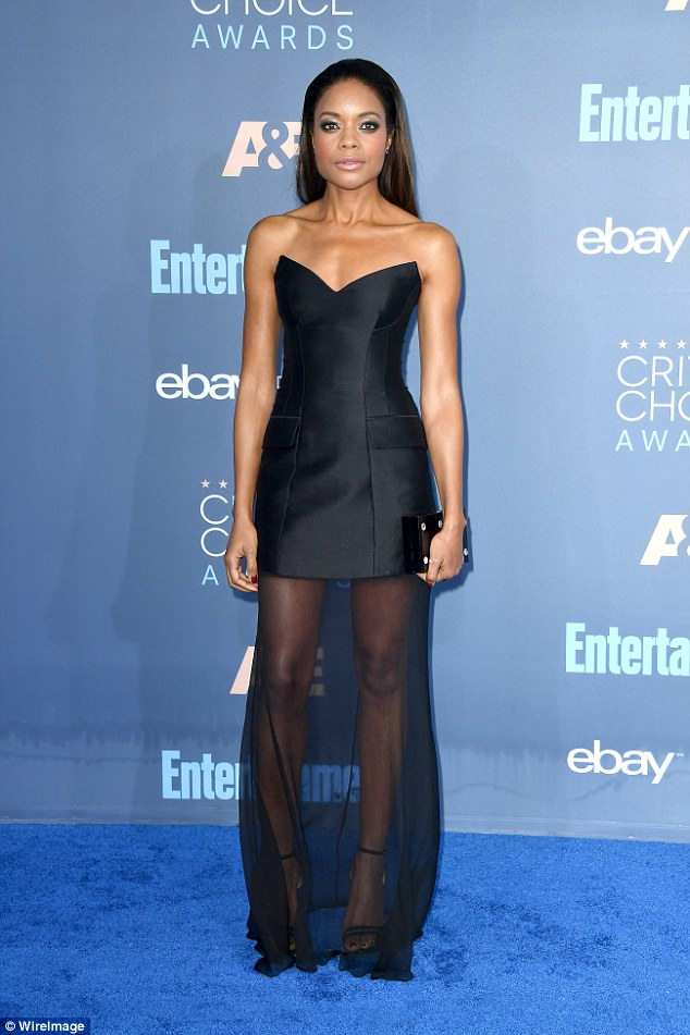 Stellar style! Naomie Harris looked nothing short of amazing as she attended the Critics' Choice Awards in support of her critically acclaimed film Moonlight in Santa Monica on Saturday