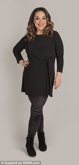 'I've completely changed my life!': Lisa Riley, 40, has already bought her Christmas outfit as she prepares to mark her first December 25 as a size 12