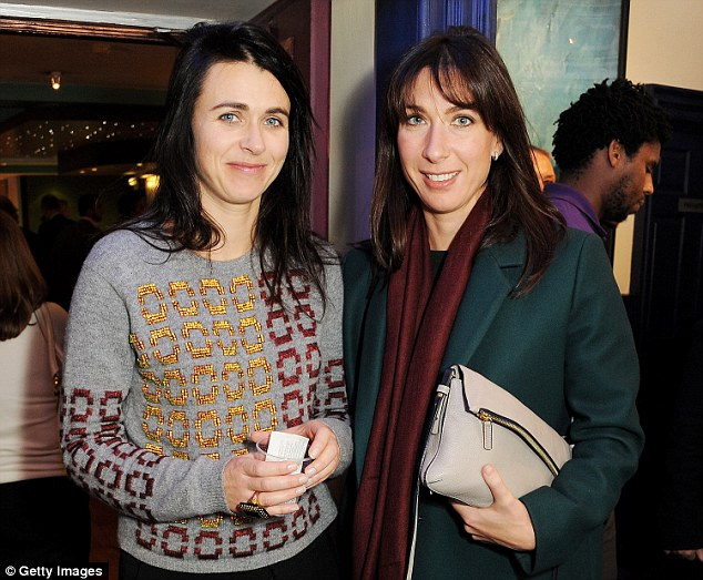 Emily Sheffield, deputy editor of Vogue and sister of Samantha Cameron, reveals that no sartorial expense will be spared on Christmas Day