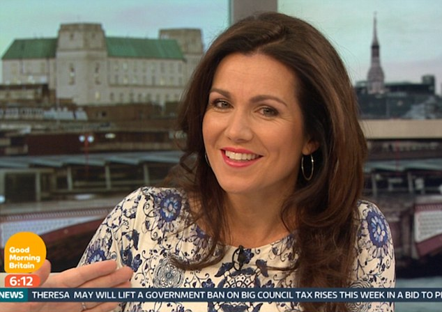 Positive:Susanna Reid revealed she 'welcomes' getting older and sees age as a 'blessing' as she reflected on her 46th birthday last week