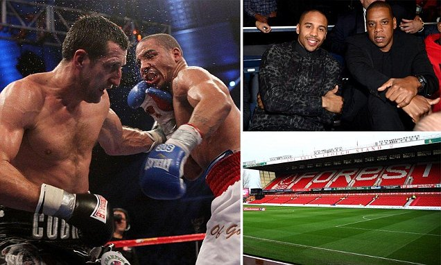 Carl Froch wants Andre Ward unification battle at Nottingham Forest's City Ground