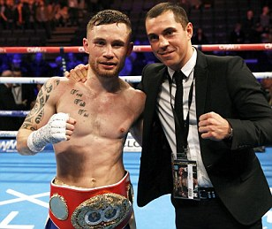 Carl Frampton and Scott Quigg on collision course after Chris Avalos win