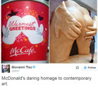Twitter goes into meltdown over McDonald's VERY cheeky festive coffee cups