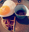 @marthathursday Duck and waffles at the #duckandwaffle