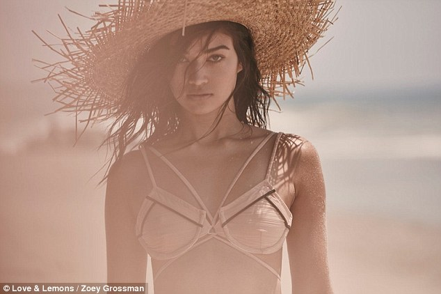 Saucy: Shanina had previously said she was a fan of the blood-type diet: 'I base my diet around eating for my blood type, which for me means more protein and not so many carbs,' she told Harper's Bazaar back in 2014'