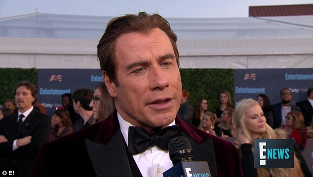 John Travolta said he was 'not interested' in watching Leah Remini's new docu-series about Scientology during an interview on Sunday at the Critics' Choice Awards in Los Angeles