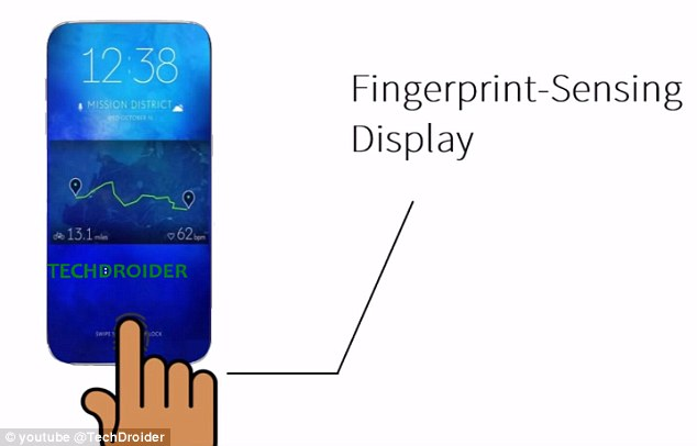 It is also speculated that the handset is ditching the home button for an optical finger recognition system inside of the display - giving Android users an edge-to-edge screen. The  firm is also considering boosting the screen size of the S8 to a 5.5in screen and a 6.2in screen