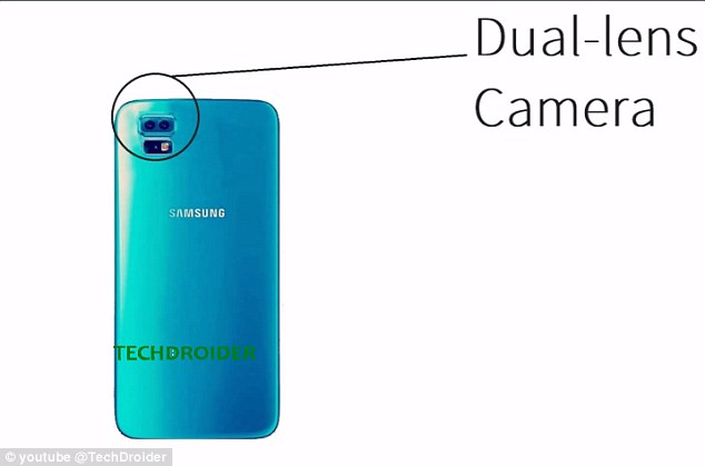 Not only could this device be Samsung's first bezel-less phone, but it would also be the first to have rear-dual cameras.Rumors suggest that pixels of the dual-cameras will support 16 megapixels and 8 megapixels