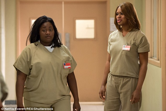 Fan favorite: Danielle (left) plays Taystee on Netflix's Orange is the New Black