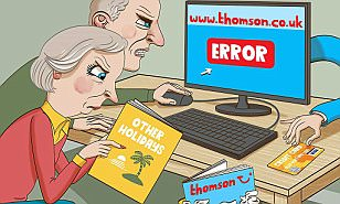 ASK TONY: Thomson won't give back money I lost when its website crashed