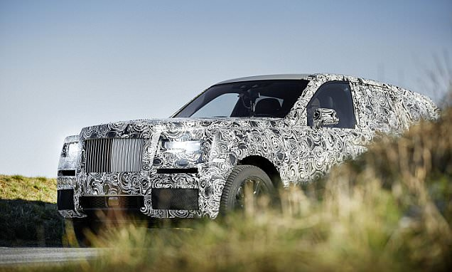 Rolls-Royce offers a sneak preview of the forthcoming Cullinan SUV