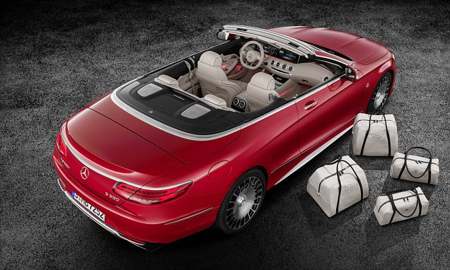 Mercedes' Maybach S 650 Cabriolet is designed for the rich and famous